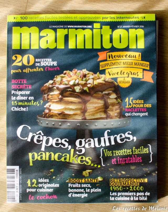 1 livre de cuisine 3 recettes marmiton magazine blogs de cuisine. Black Bedroom Furniture Sets. Home Design Ideas